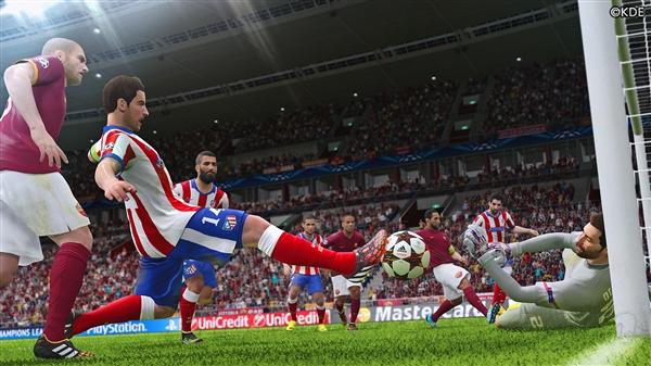 PES 2015技术规格:Xbox One又被狠狠鄙视了