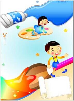 儿童绘画班图片