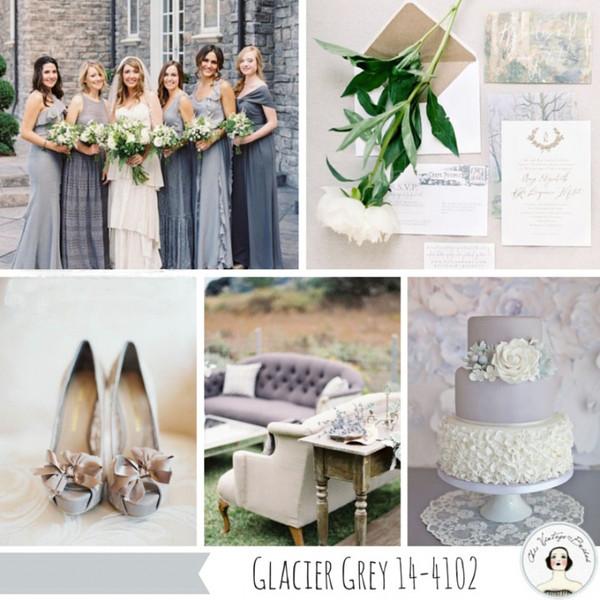 2015年春季流行色趋势 给你的春季婚礼寻找一抹色