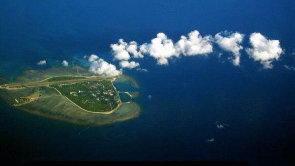 资料图:永兴岛是中国西沙群岛的主岛,也是西沙群岛及南海诸岛中最大的