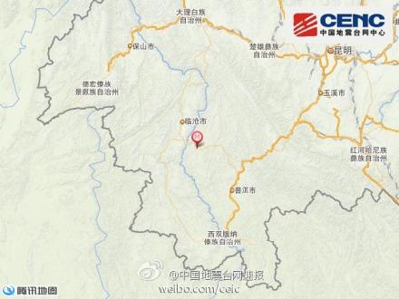 中新网10月8日电 据中国地震台网正式测定:10月8日9时36分在云南省普洱市景谷傣族彝族自治县(北纬23.4度,东经100.4度)发生3.2级地震,震源深度5千米。