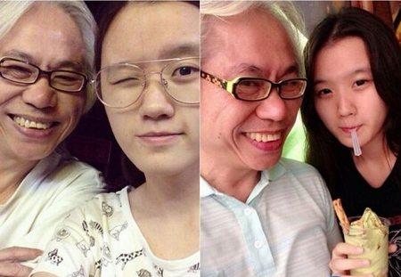 57岁李坤城和17岁林靖恩爱得火热