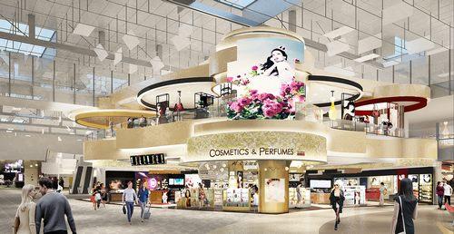 新罗免税店新加坡樟宜机场店开业运营