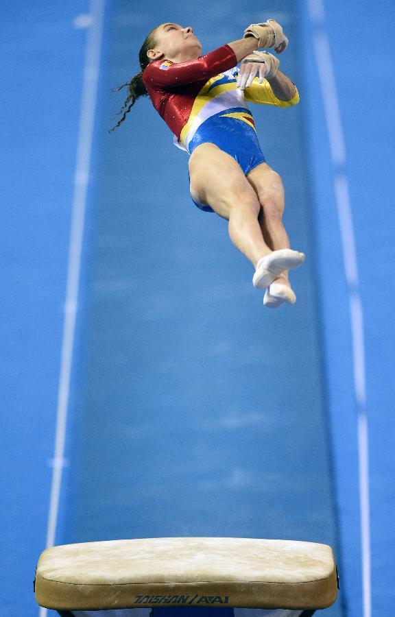 罗马尼亚体操队_(体操世锦赛)(2)罗马尼亚队角逐女团决赛(图)