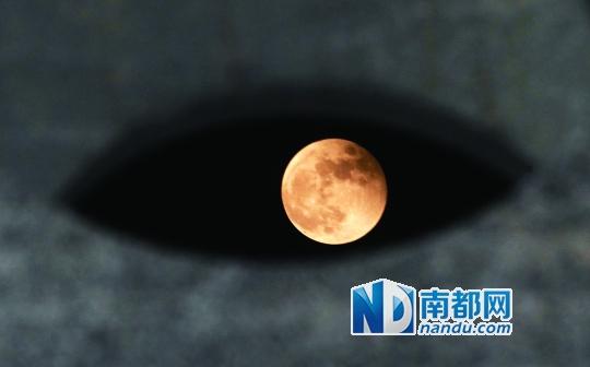 你看你看月亮的脸(图)