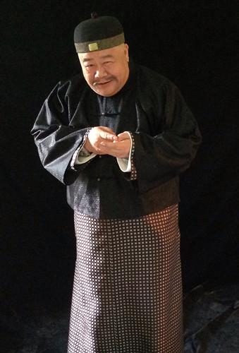 演员刘金山《龙号机车》饰演财迷县令