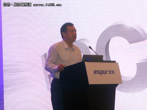 """国家863计划""""高性能计算机及其核心软件""""重大专项总体组组长、北京航空航天大学教授钱德沛"""