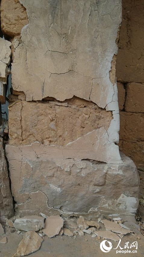 村中的房屋也受到了不同程度的破坏。