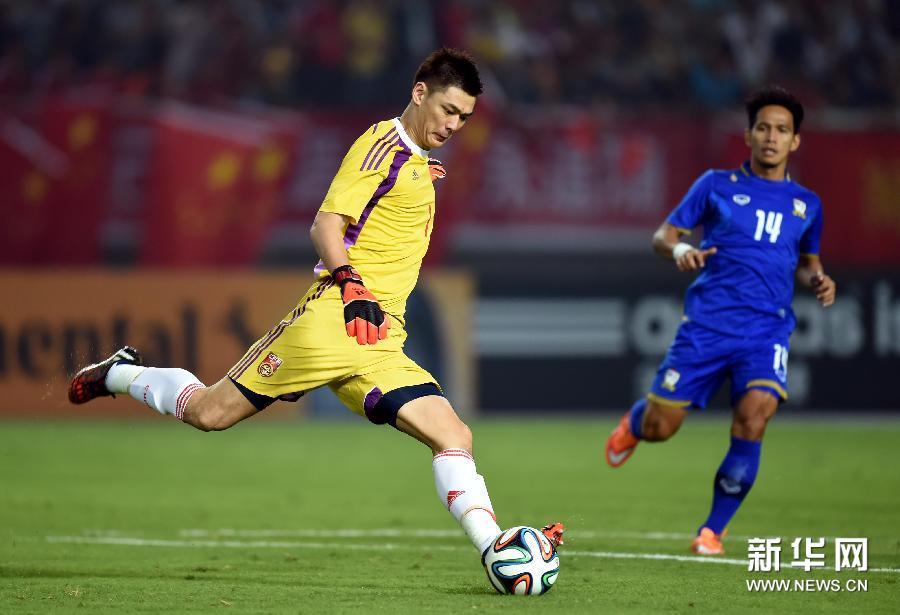 友谊赛:国足3-0泰国[高清](组图) - 2014年最新新