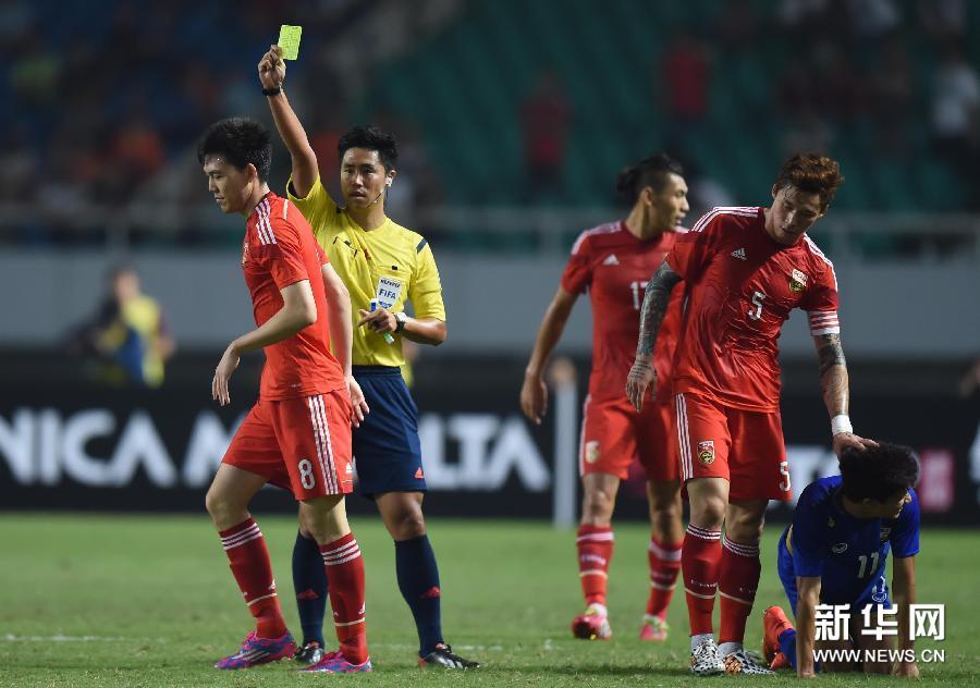 友谊赛:国足3-0泰国[高清](组图)