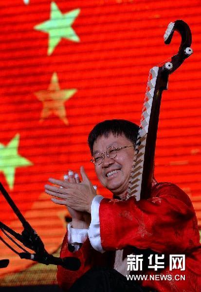 你中国 访旅日琵琶演奏家涂善祥 图