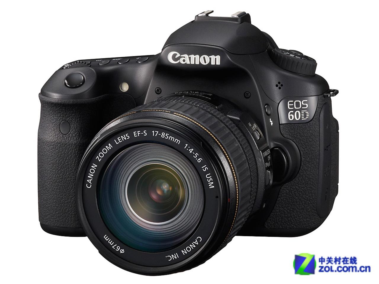 图为:佳能EOS 60D数码单反相机