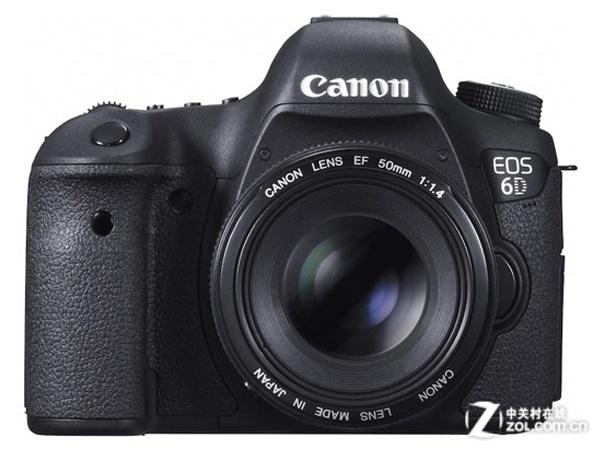 图为:佳能单反相机EOS 6D