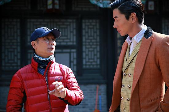 10月初张亮亮相釜山电影节,这是作为演员身份第一次亮相国际电影节
