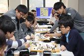 图文:三星杯八强战 身穿国家队队服的韩国棋手