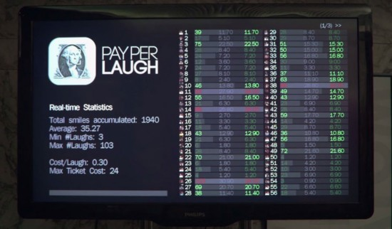 """组图:西班牙现""""不准笑""""剧院 免费入场笑一次收2元"""