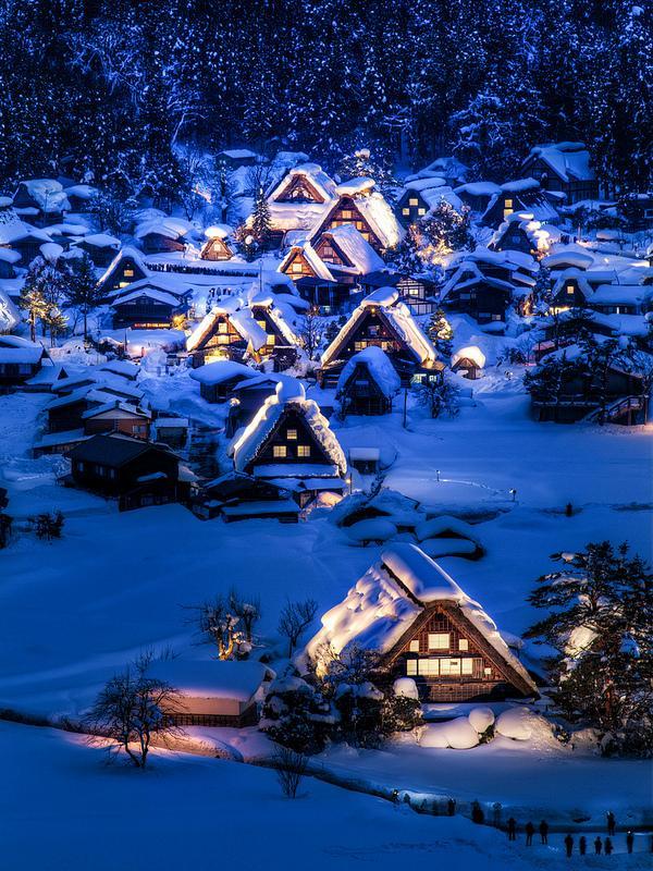 日本最美9个小镇图片