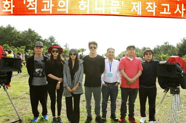 电影《情敌蜜月》韩国开机 施予斐加盟拍摄