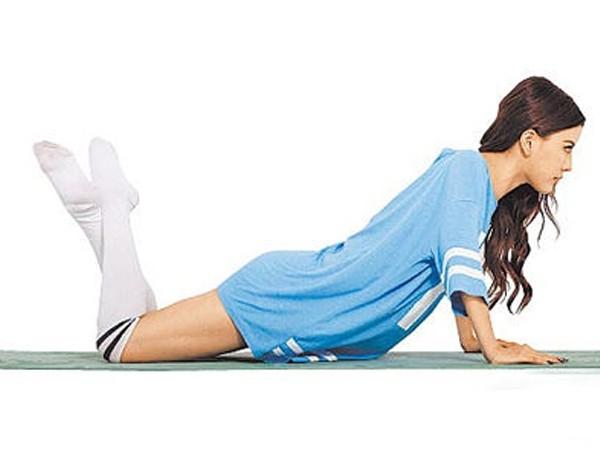 by2示范高效减肚子减肥动作便秘结束断食图片