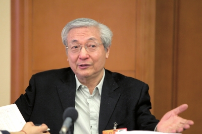 许智宏。(资料图片)京华时报记者王海欣摄