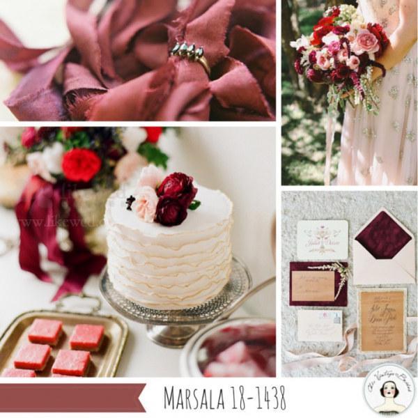 2015年春季婚礼流行色趋势