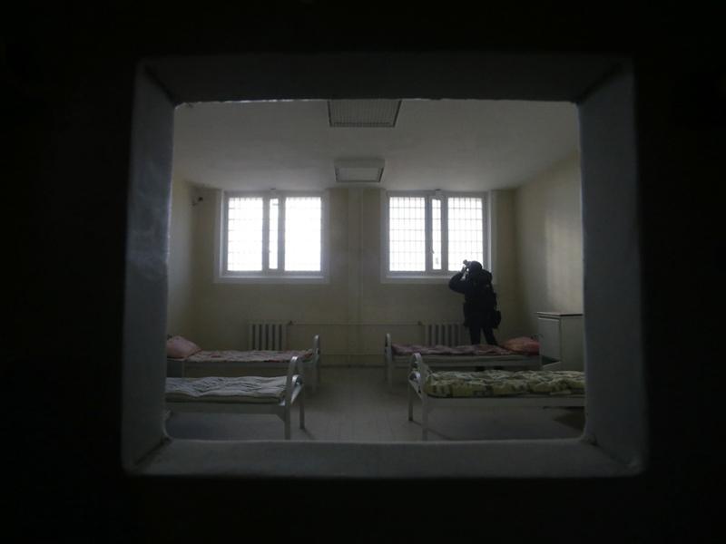 该监狱外观图。