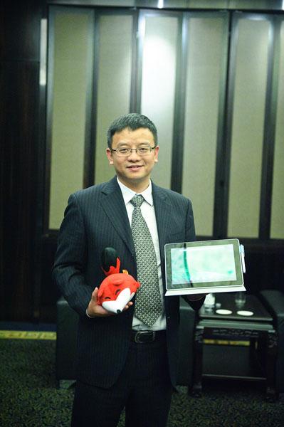 同方股份有限公司总裁助理、计算机产业本部副总经理张伟先生