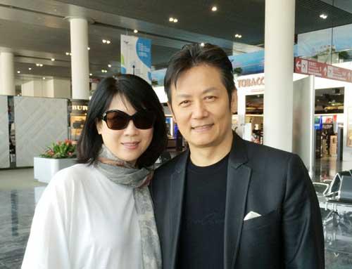 徐乃麟与妻子