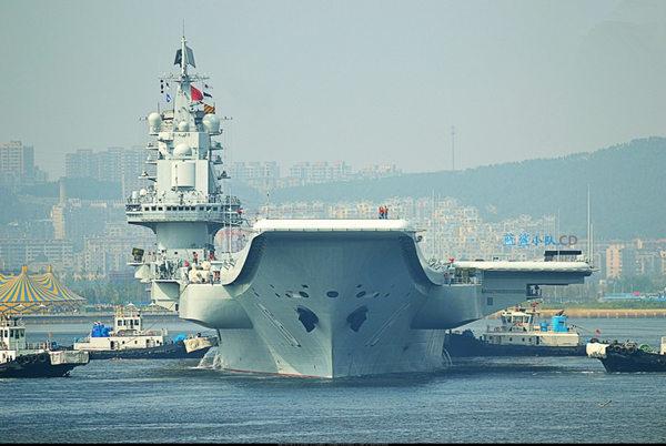 中国第二艘新航母上海建造 外媒曝将用非核能 2