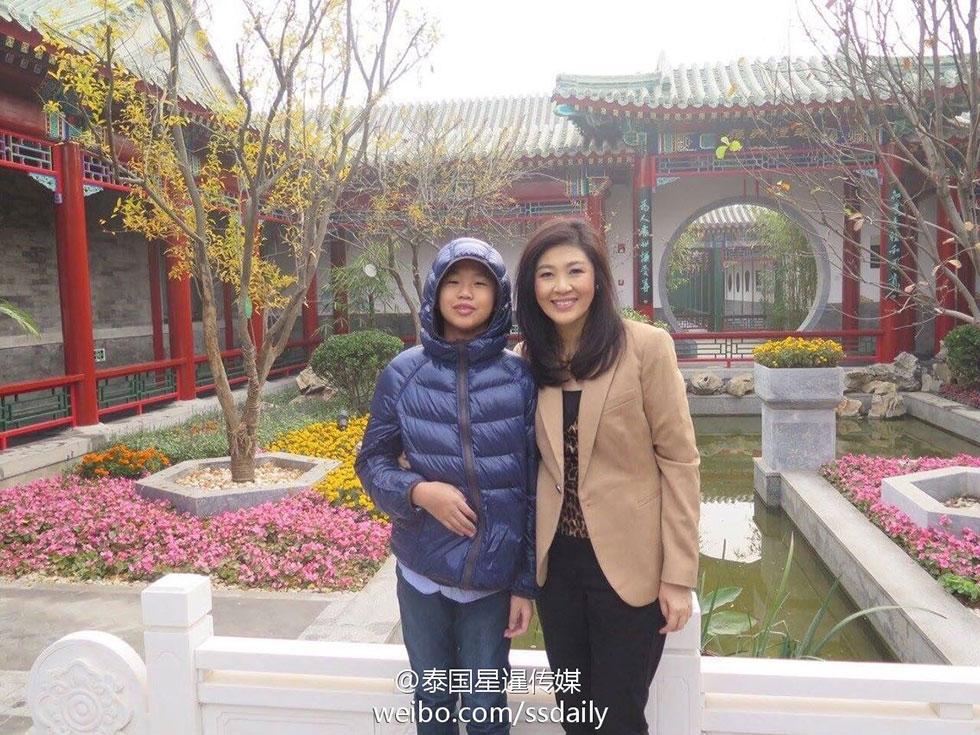 泰国首相英拉简介_泰国前总理他信与妹妹英拉已抵京旅游(高清组图)-搜狐滚动