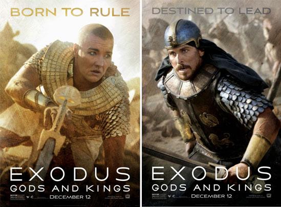 《出埃及记:诸神与国王》发布一组最新海报