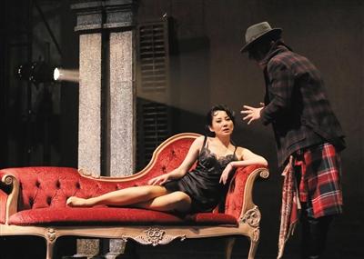 赖声川导演的《如梦之梦》去年在北京首演,今年圣诞节将继续上演。新京报记者 郭延冰 摄