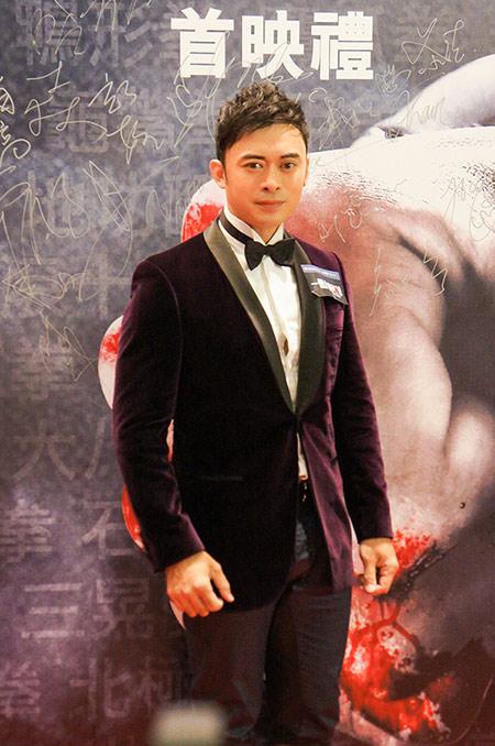 樊少皇出席《一个人的武林》首映礼