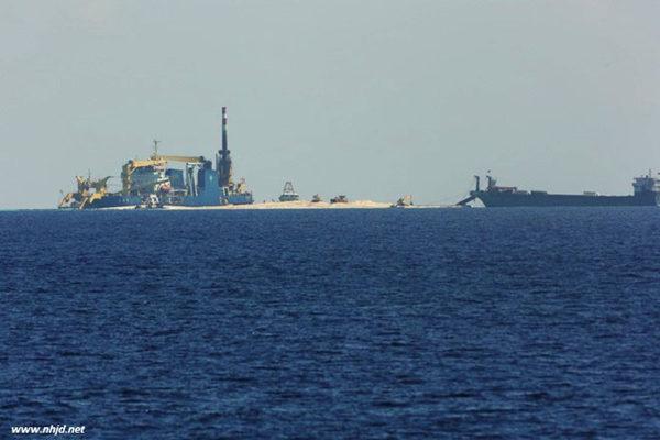 外媒:中国计划建南沙浮船坞 支持南沙填海造陆