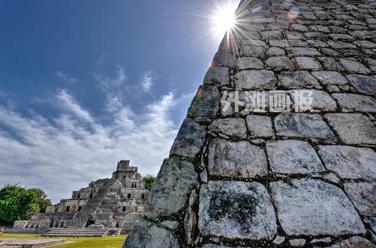 令人神往的美洲风景 墨西哥的南提莫宗市