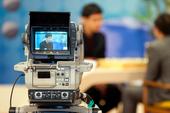 图文:三星杯半决赛第一局 摄像机实时记录