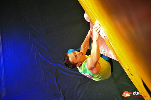 俄罗斯速攀冠军Stanislav Kokorin