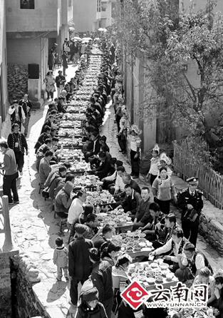 8 吃一顿丰收长街宴