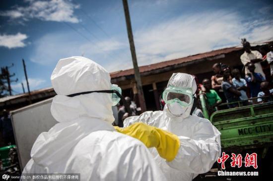埃博拉致西非三国近5000人死亡 疫情仍在发展