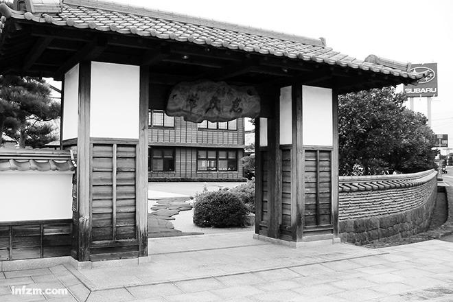 有着浓厚中国古代元素的日本传统建筑图片