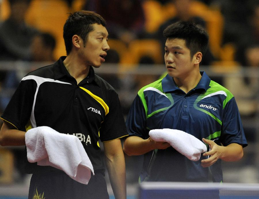 (体育)(2)乒乓球――全国锦标赛:樊振东/许昕晋级