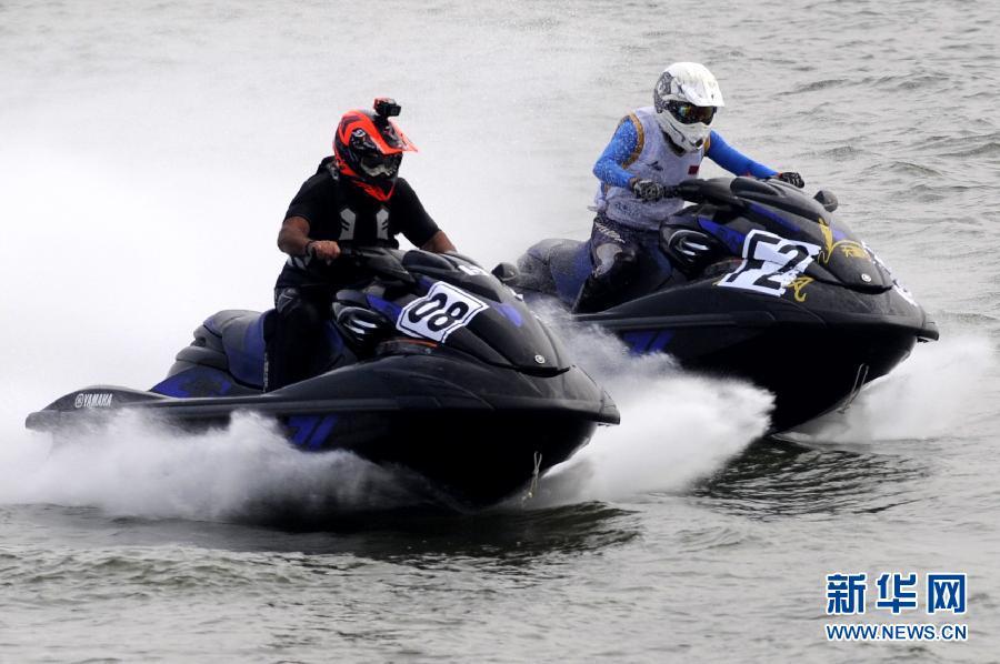 2014世界水上摩托艇中国(南阳)大奖赛开赛