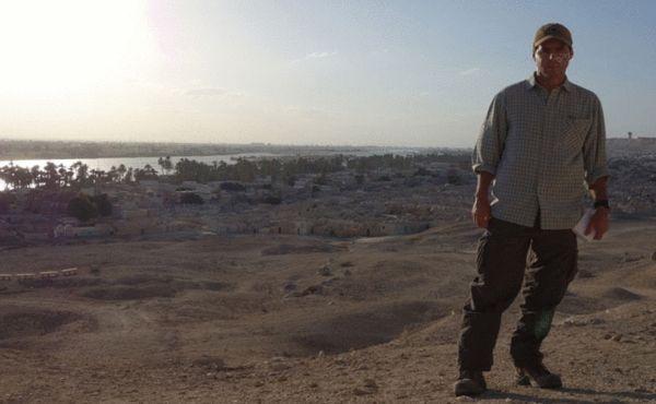 上埃及的明亚省城外