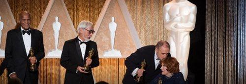 日本电影大师宫崎骏(Miyazaki Hayao)领取终身成就奖