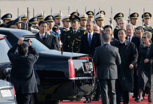 本次,奥巴马的专车——被奥巴马保镖戏称为