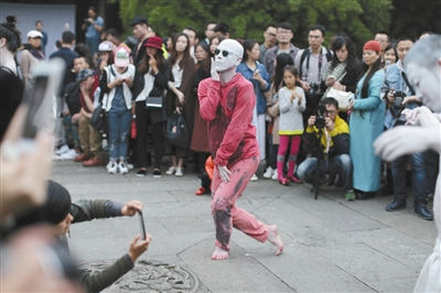 日本舞踏表演