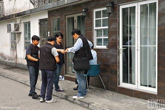 内地富商被禁锢在沙田大围下径口村一间出租村屋。香港新报图