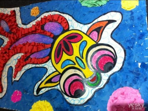 在充满魅力的创意世界,特殊儿童们以画笔与巧思为桥,勾勒出了非同凡响图片