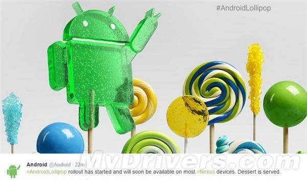 终于来了:Android 5.0正式开启