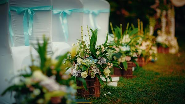 走进自然的森系清新婚礼!图片